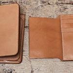 二つ折り財布にカード入れパネルを増設!